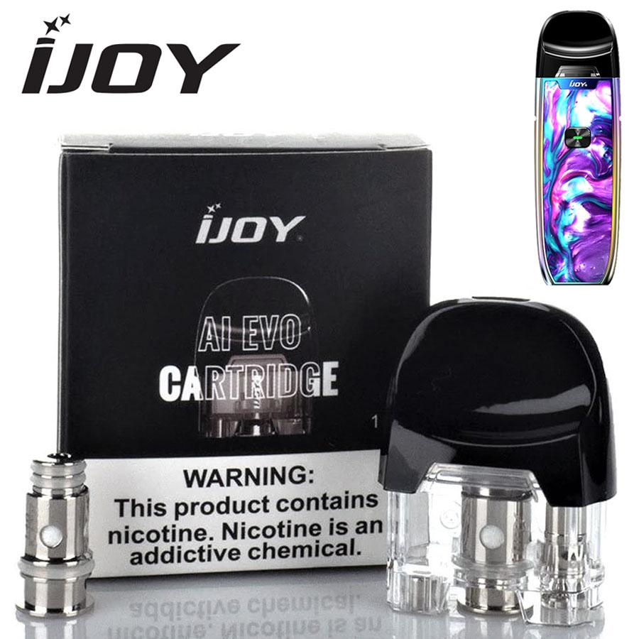 Náhradní cartridge pro IJOY AI EVO Pod (2,8ml)+2x HLAVA 0.7/1.4ohm
