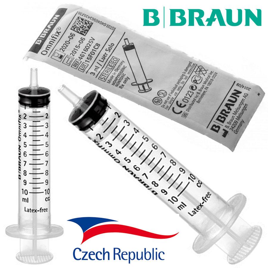 Injekční stříkačka bez jehly 10ml (CZ)
