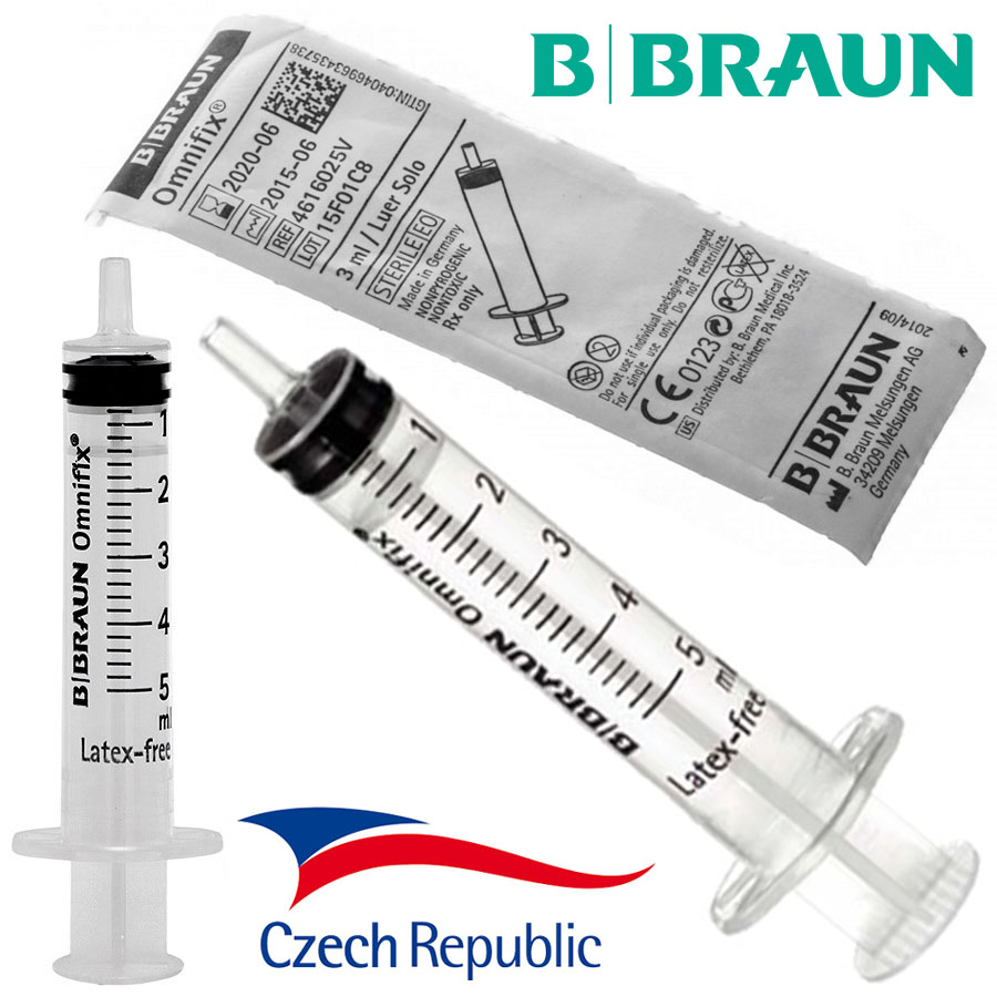 Injekční stříkačka bez jehly 5ml (CZ)