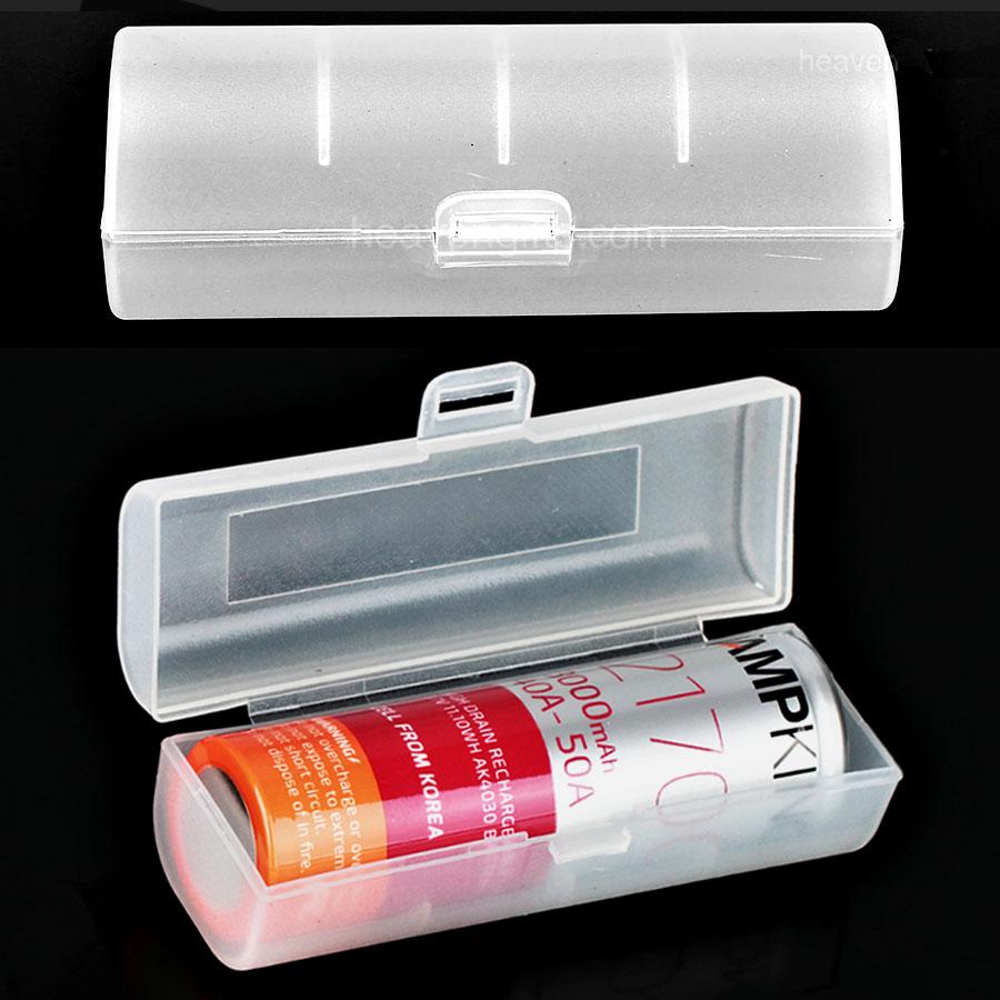 Pouzdro (kryt) na 1x baterii 21700/20700