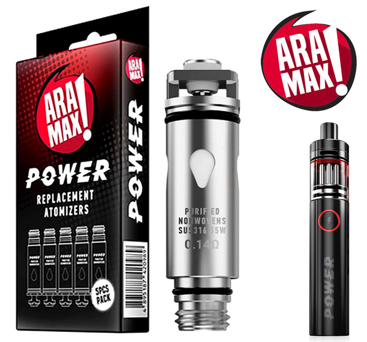 Aramax Power Sub-Ohm hlava 0.14ohm