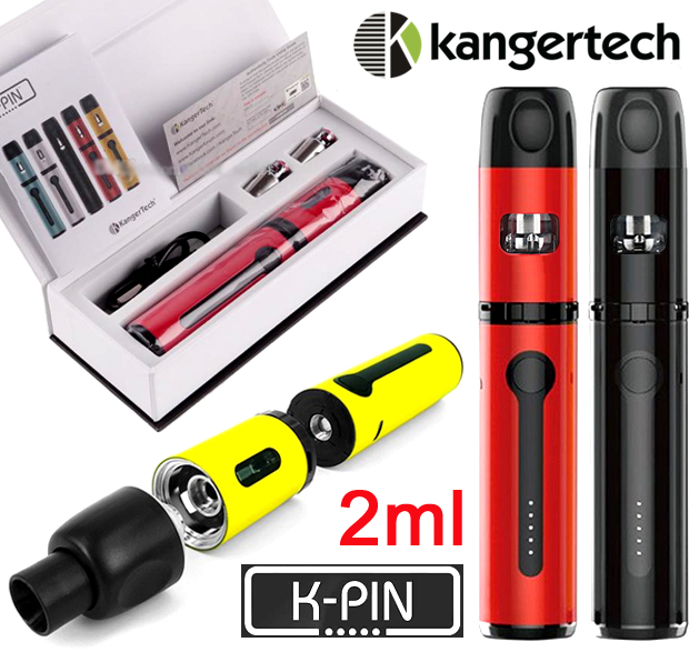 KangerTech K-PIN (2000mAh/2ml/0.2ohm)+HLAVA NAVÍC