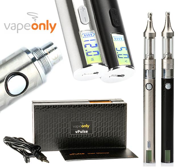 VapeOnly vPulse LCD/USB SET (výkon 3-12W/napětí 3-5V/900mAh/2ml/1.8ohm)