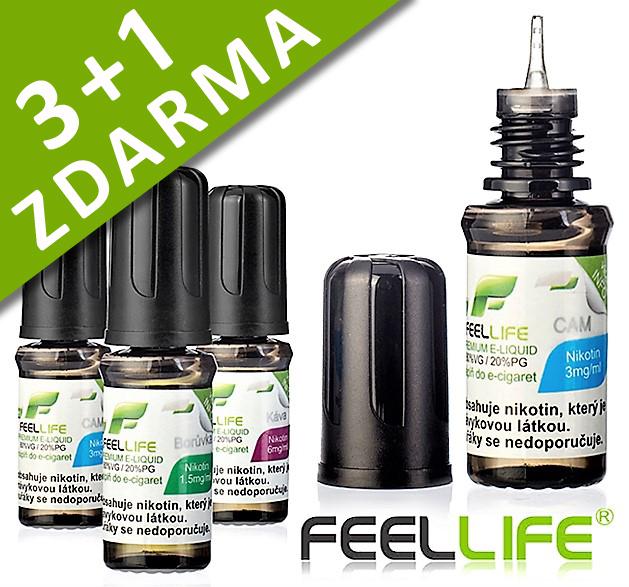 E-liquid FEELLiFE HT (20PG/80VG) 3+1 ZDARMA