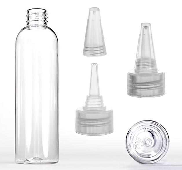Prázdná lahvička PET s tryskou 120ml