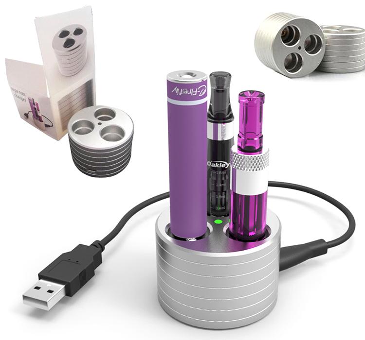 Stojánek s usb nabíječkou pro eGo baterie
